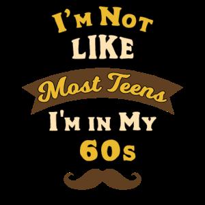 Ich bin nicht wie die meisten ns Ich bin in meinem 60er Skull