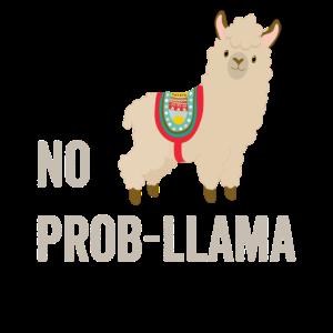 Kein Prob Lama, Lustiges Lama, Lama-Geschenke, Drama Lama