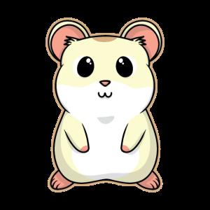 Süßes Tier Baby Hamster