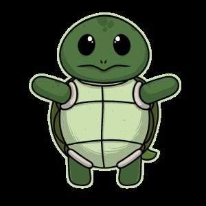 Süßes Tier Baby Schildkröte