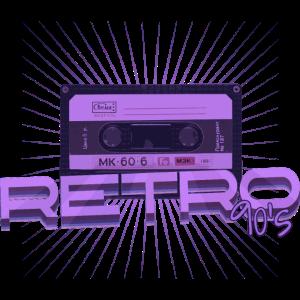 Retro - 90er, vintage, oldschool, Kassette
