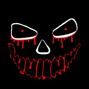 Horror Halloween Face