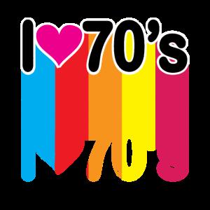 I LOVE 70er jahre
