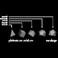 Platonicum solidum