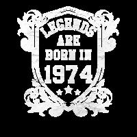 Legenden sind 1974 geboren