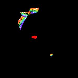 Lady Human Right LGBT Stolz