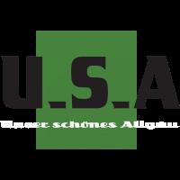 Unser schönes Allgäu Print, Allgäuer, USA