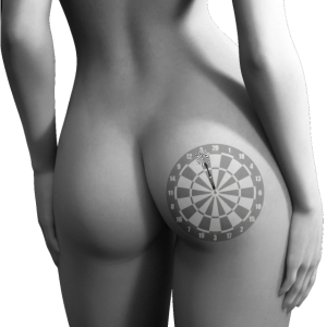 Dart Sexy Frauen Po
