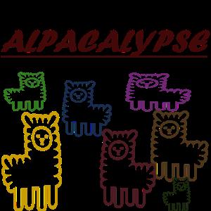 alpacalypse, tiere, fell, apocalypse, alpaka, süß