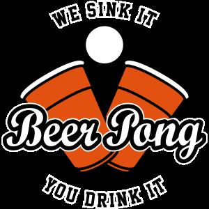 Beer Pong Logo IV