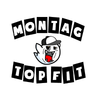 Montag - Top Fit Boo Switch RoXas Logo Gaming