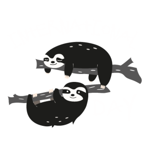 International Sloth Day T-Shirt Faultier Tag