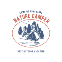Camping in der Natur Outdoor