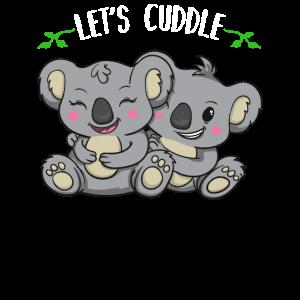 Koala Koalabär Kuschel Geschenk