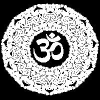 Goa Design, Om Logo, weiß
