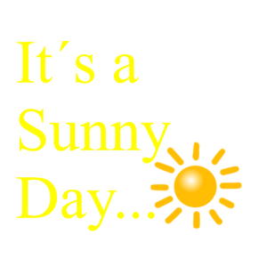 It s a sunny Day