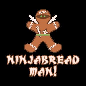 Ninjabread Geschenk Ninja Lebkuchen Weihnachten
