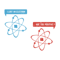 Elektron - Geschenk Physik Nerd Geek Prüfung Atom