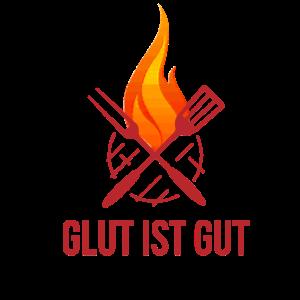 Glut Gut Grillen