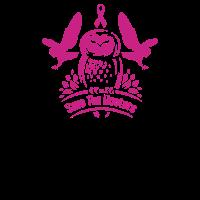 Speichern Sie die Hooters-Brustkrebs-Eulen
