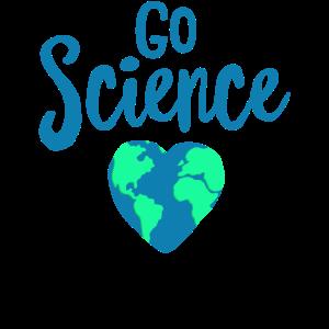 Gehen Sie Wissenschaft - lustiges Tag der Erde Hemd - rezyklieren Sie den Klimawandel