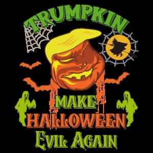 Trumpkin machen Halloween böse wieder unheimlich lustig
