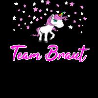 Einhorn JGA - Team Braut