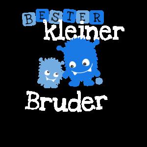 Kleiner Bruder Monster Geschwister Brüder lustig