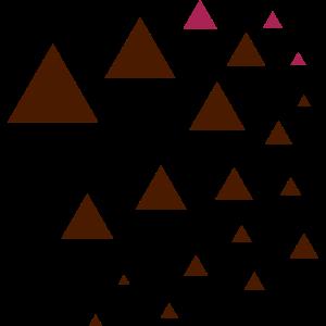 Dreieck Berge