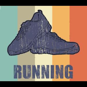 Running Laufen Joggen Läufer Retro Geschenk