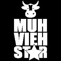 Muh vieh star mit cow head und star