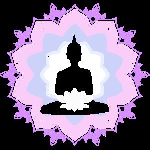 Buddha Lotus Meditation Yoga Geschenk Idee