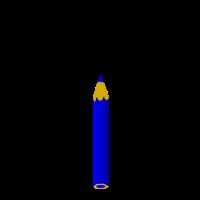 Ober Stift blau