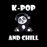 KPop und Chill Panda, koreanischer Panda Kawaii
