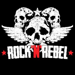 Rock`N`Rebel Logo