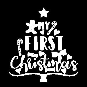 My First Christmas! Baby Kinder Weihnachten