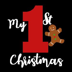 Mein ersten Weihnachten! Baby Weihnachtszeit Kind