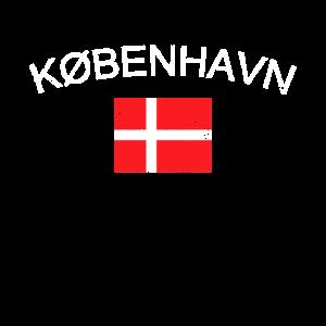 Kobenhavn T-Shirt, Vintage Dänemark Kopenhagen