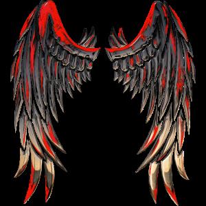 Fighting Angel Blood Wings