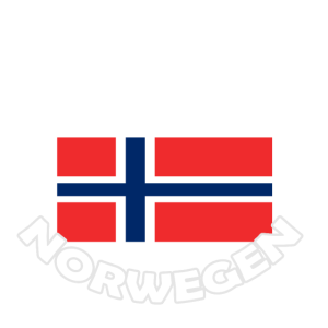 Flagge Urlaub urlaubsreif Norwegen