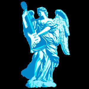 Engel 2018 blau