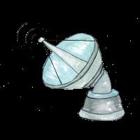 Weltraum Satellit