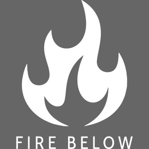 Fire Below EP Design - White