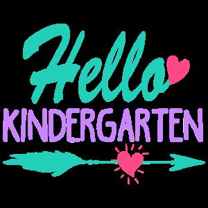 Hallo Kindergarten T-Shirt