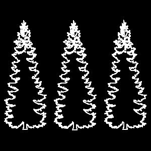 Baum Bäume Nadelbaum Camping Wald Geschenk