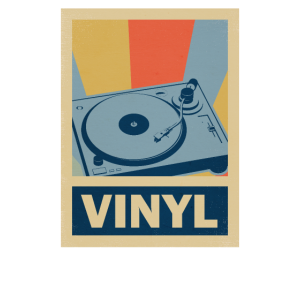 Schallplatte Geschenk Musik Retro Vintage 70er
