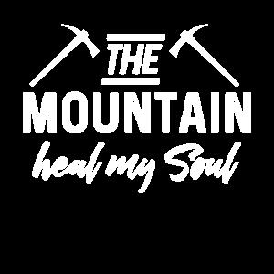 Die Berge Heilen Meine Seele Bergsteiger Geschenk