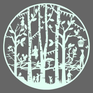 Mandala knipkunst lente