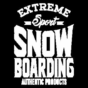 Extremsport Snowboarding