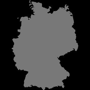 Deutschland, Germany, Karte ohne Schriftzug